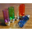 Wide Bore Colored Pyrex Glass Jerrycan 510 Drip Tip
