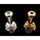 Lotus Flower Metal Drip Tip - Silver