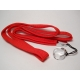 eGo Lanyard with Ring Clip - Red