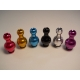 Anodized Gourd Drip Tip - Silver