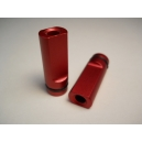 Red Anodized Flat Drip Tip