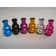 Anodized Double Gourd Drip Tip - Silver