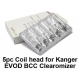5 pack Coil heads for Kanger EVOD/Protank BCC Clearomizer - 2.5 ohm