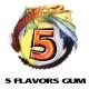 5 Flavors Gum E-Liquid