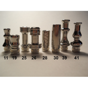 Stainless Steel Drip Tip 25