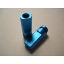 Teal Anodized Flat Drip Tip