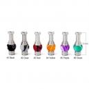 Stainless Steel Acrylic Hybrid Ming Vase 510 Drip Tip
