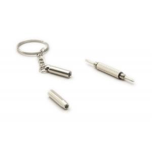 60mm Mini Stainless Steel Multifunction Screwdriver Keychain